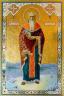 """Рукописная икона по которой была создана модель """"Священномученик Исидор Юрьевский"""""""