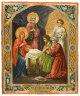 """Рукописная икона по которой была создана модель """"Рождество Христово"""""""