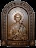 """Резная икона """"Святой Георгий Победоносец"""" (в2) — Мастерская резных икон ShatoWood"""