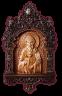 """Резная икона """"Святитель Спиридон Тримифунтский"""" — Мастерская резных икон ShatoWood"""