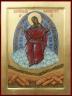 """Рукописная икона по которой была создана модель Божией Матери """"Спорительница хлебов"""" (в2)"""