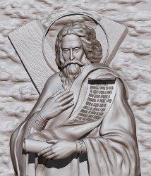 """Резная икона """"Апостол Андрей первозванный"""""""